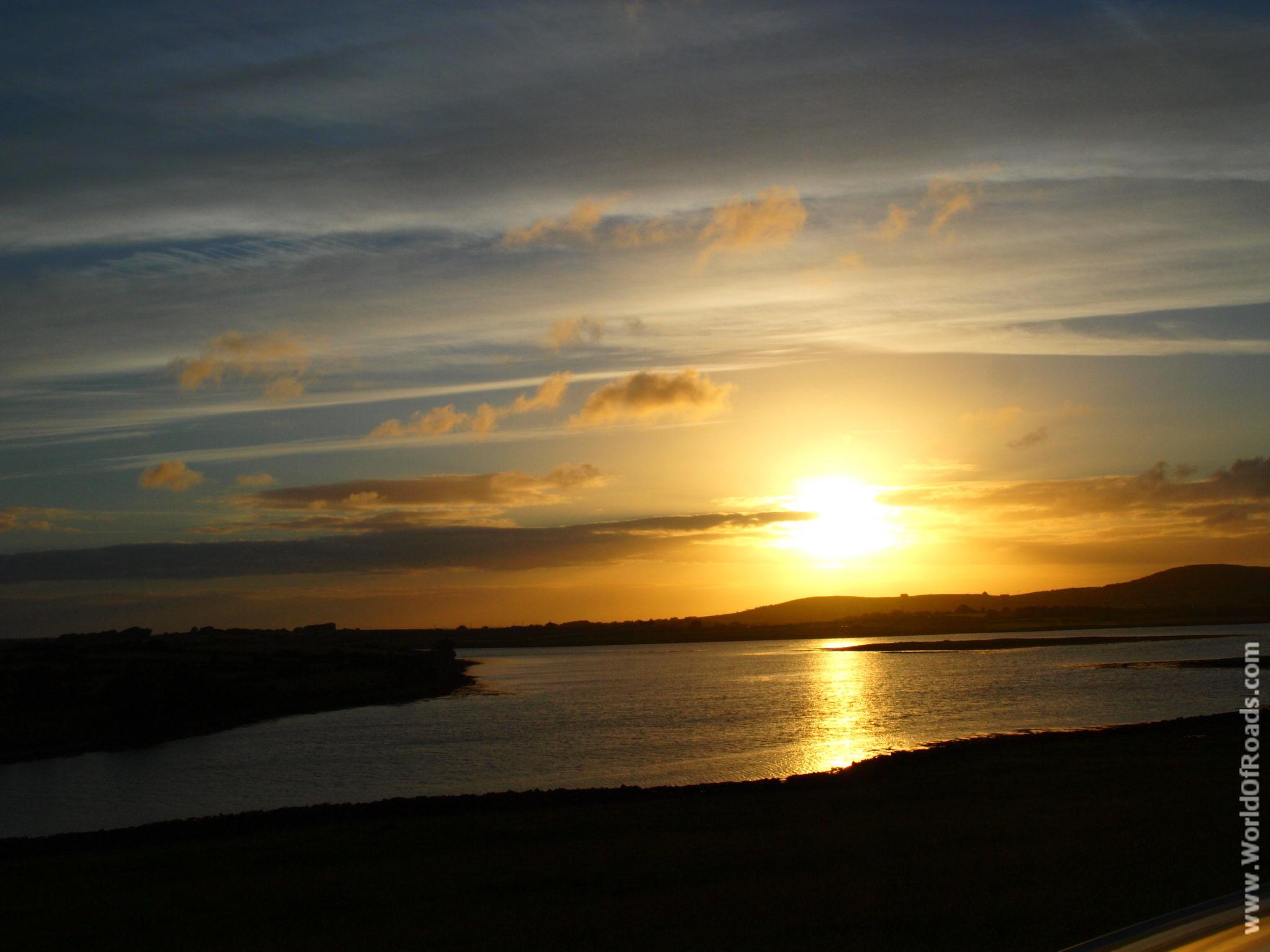 Восход. Ирландия.