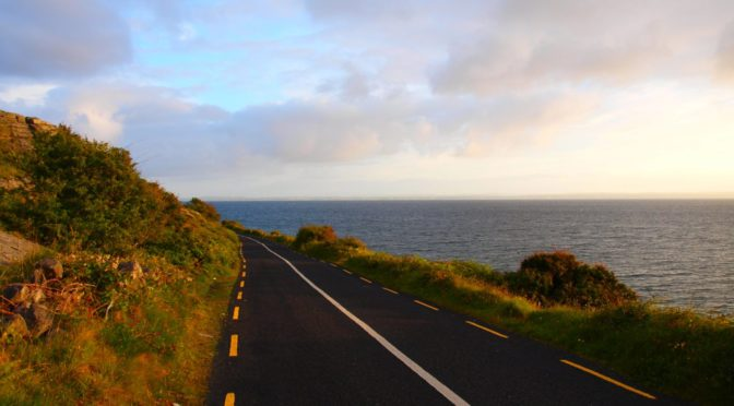 Road in Ireland.