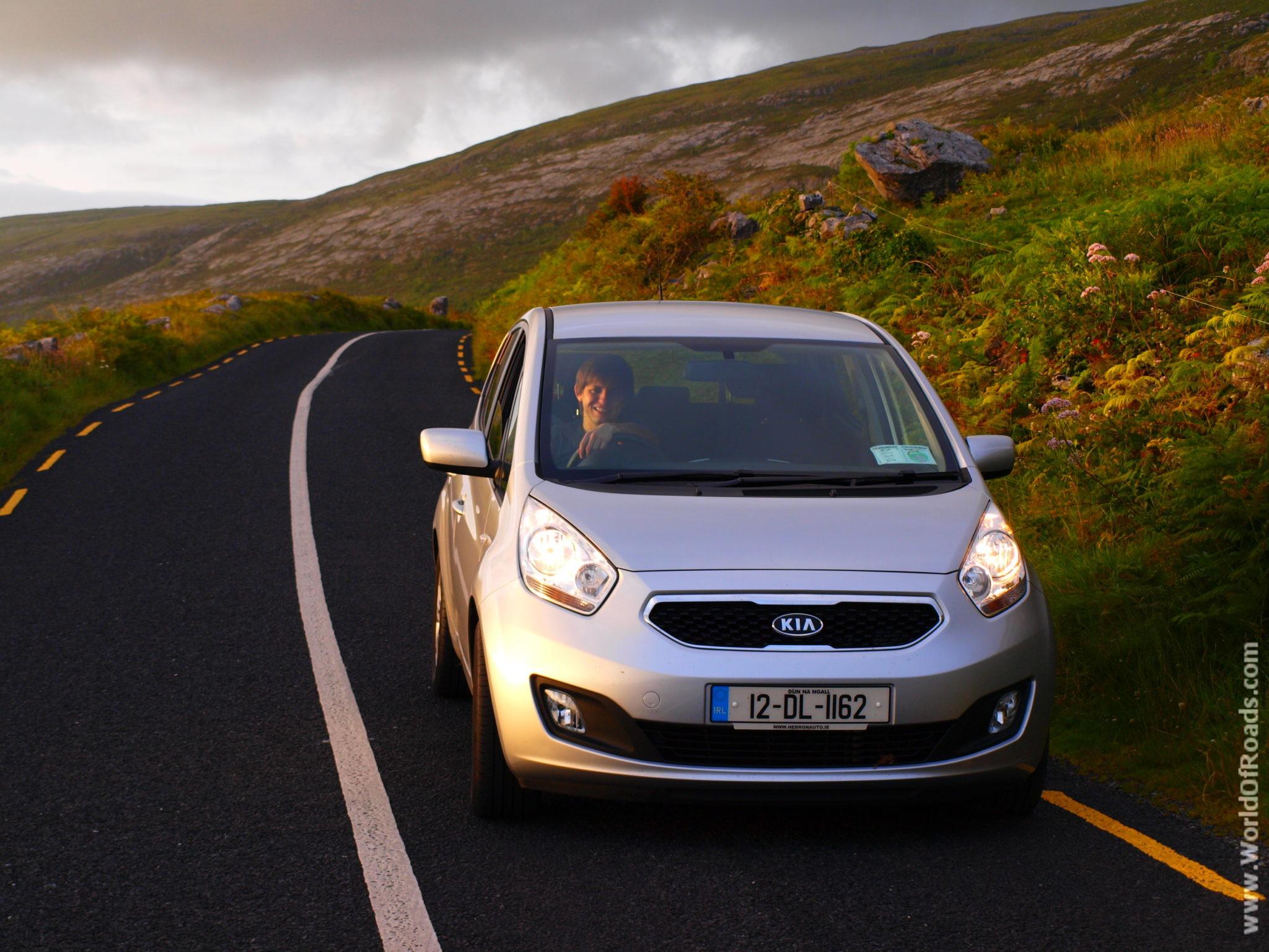 Дорога вдоль океана. Ирландия.