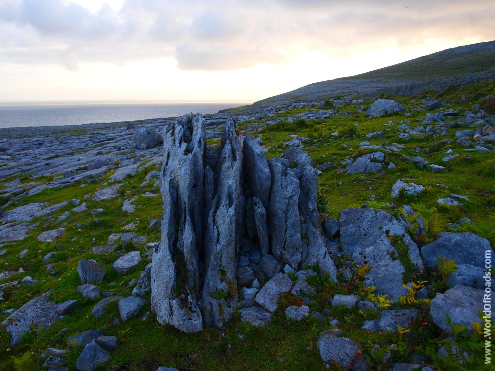 Природа Ирландии. Камни.