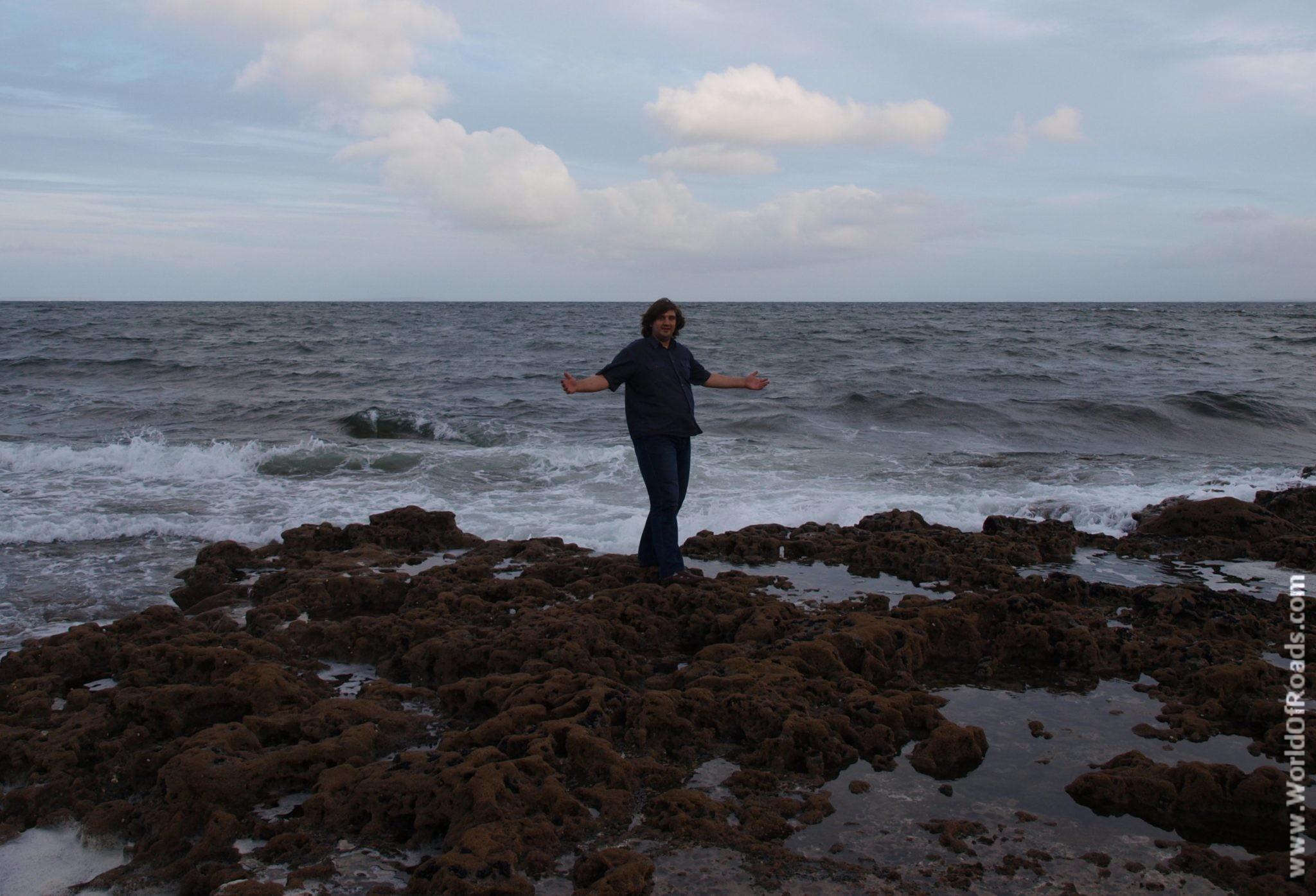 Природа побережья Атлантического Океана. Ирландия.
