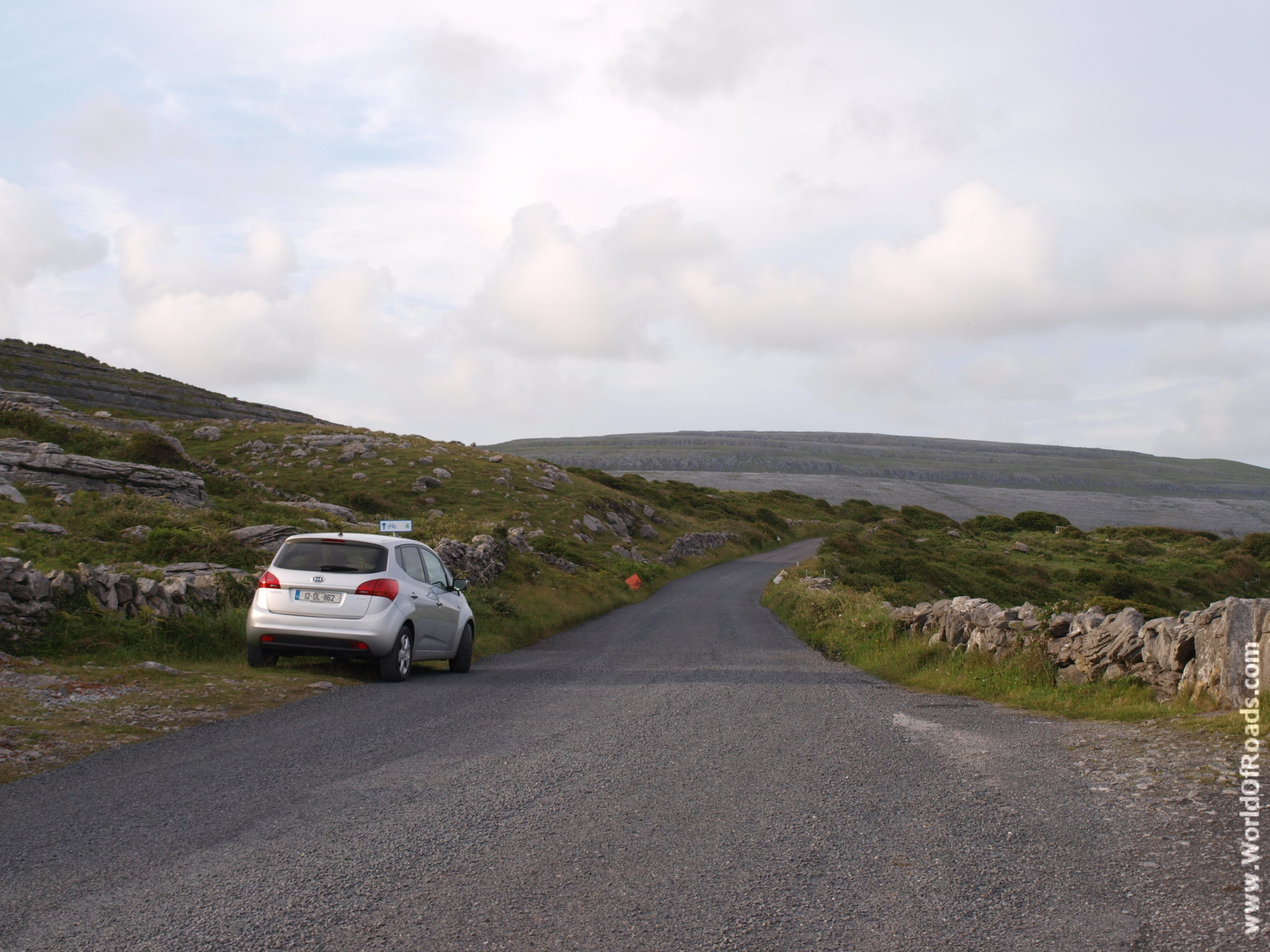 Kia Venga. Ирландское побережье.