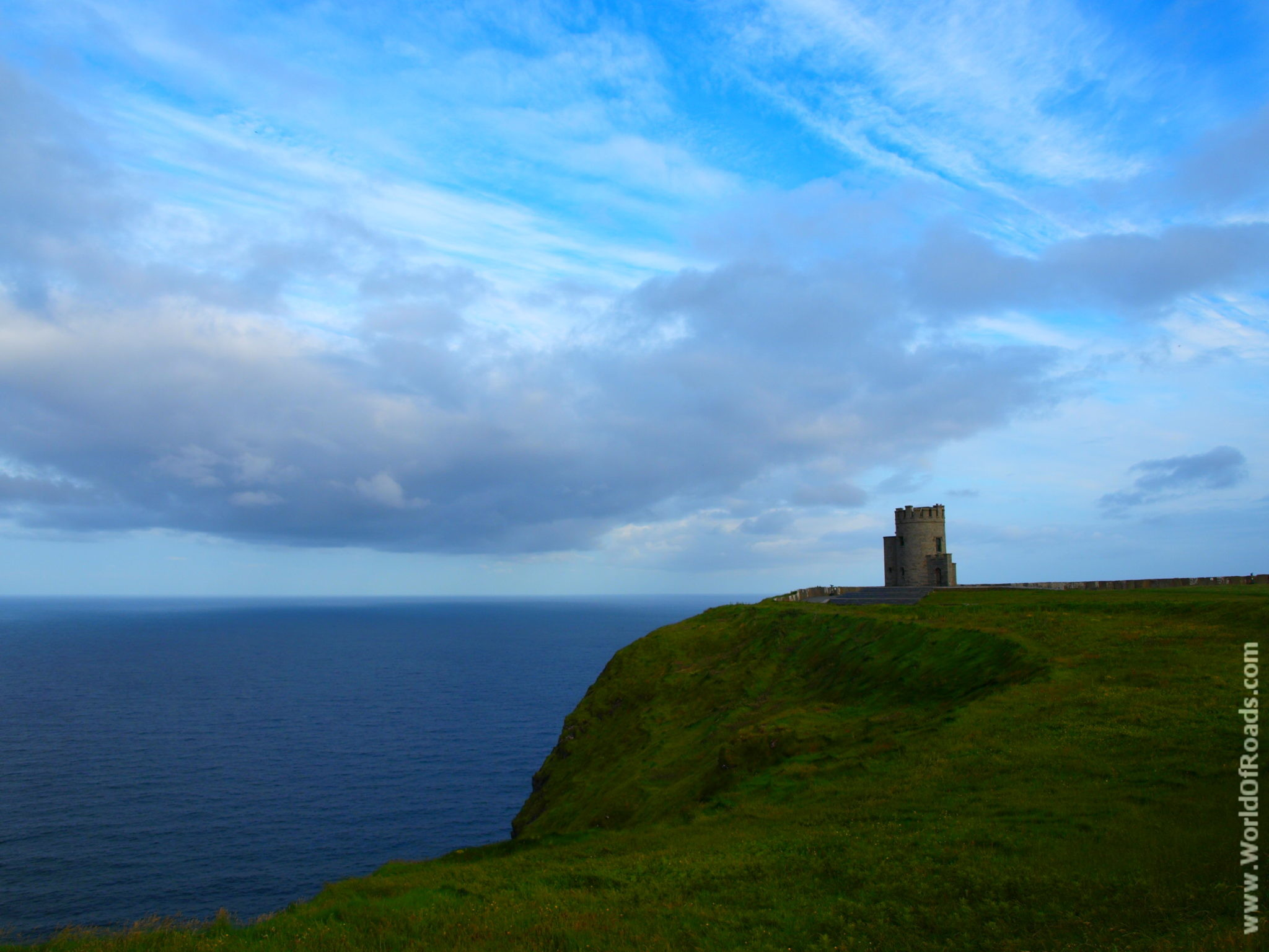 Башня О'Брайена. Клифы Мохер. Ирландия.