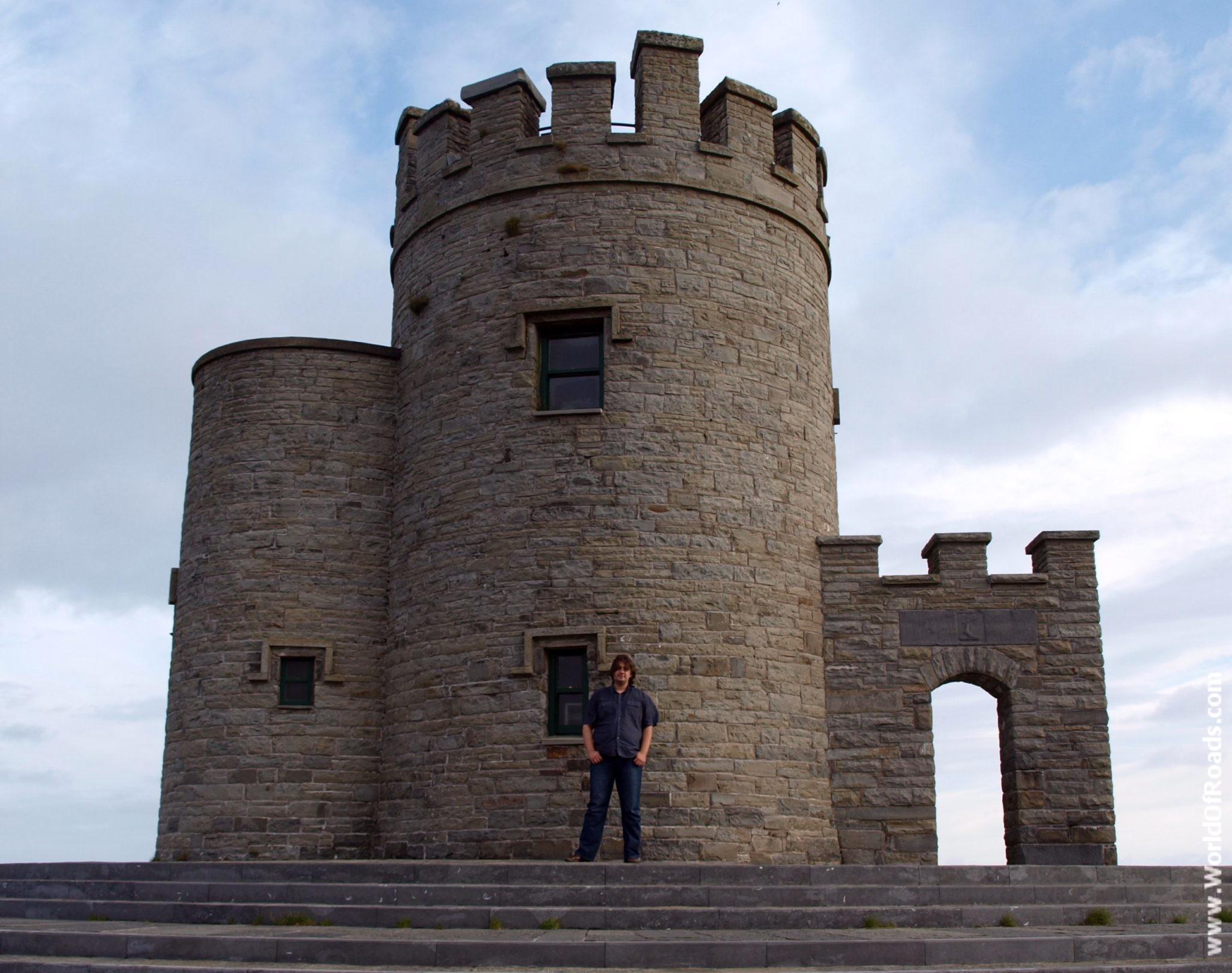 Башня О'Брайена. Утесы Мохер. Ирландия.