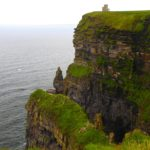 O'Brien's Tower. Cliffs of Moher. Ireland.