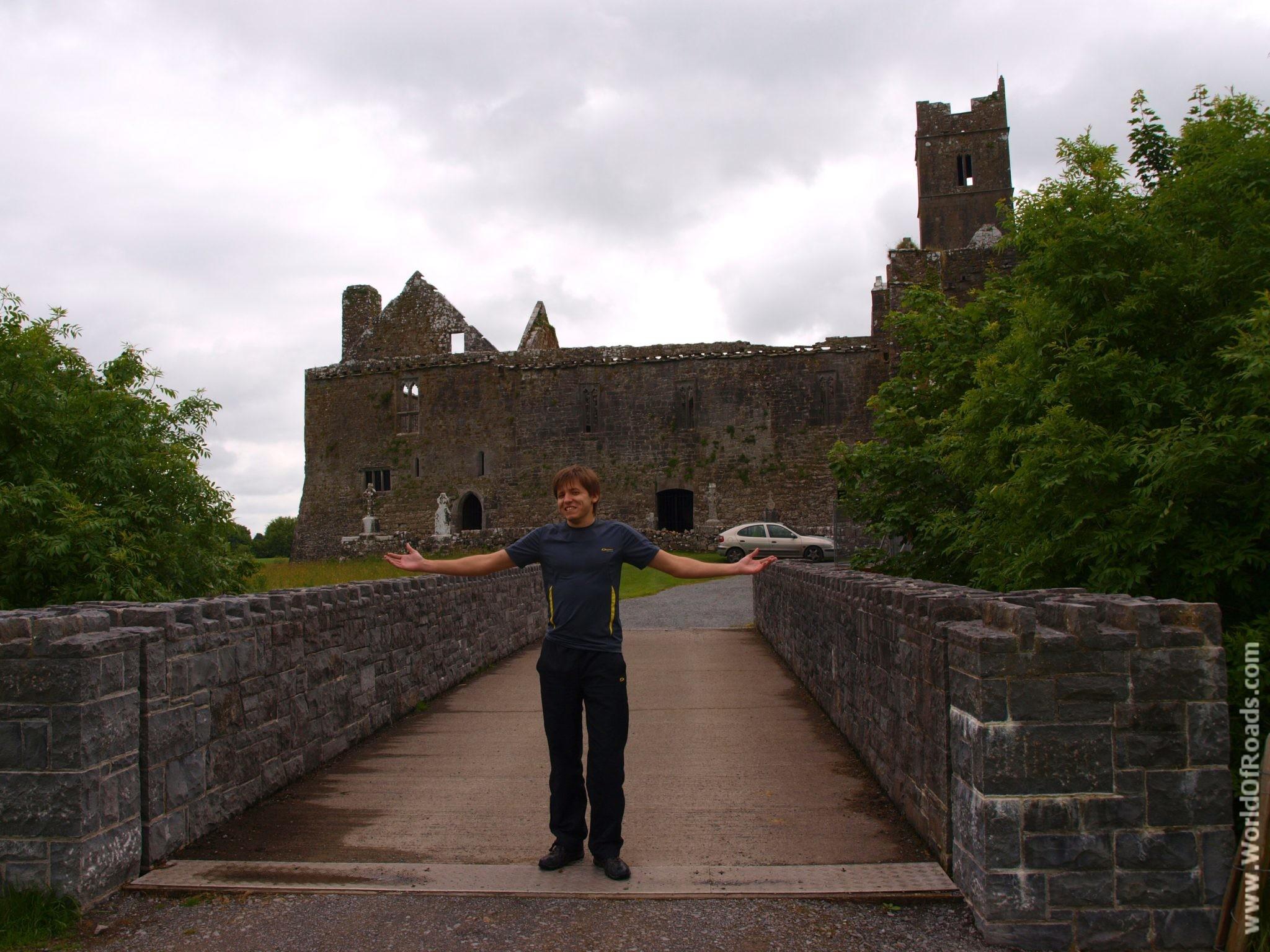 Мост. Аббатство Квин. Графство Клэр. Ирландия.