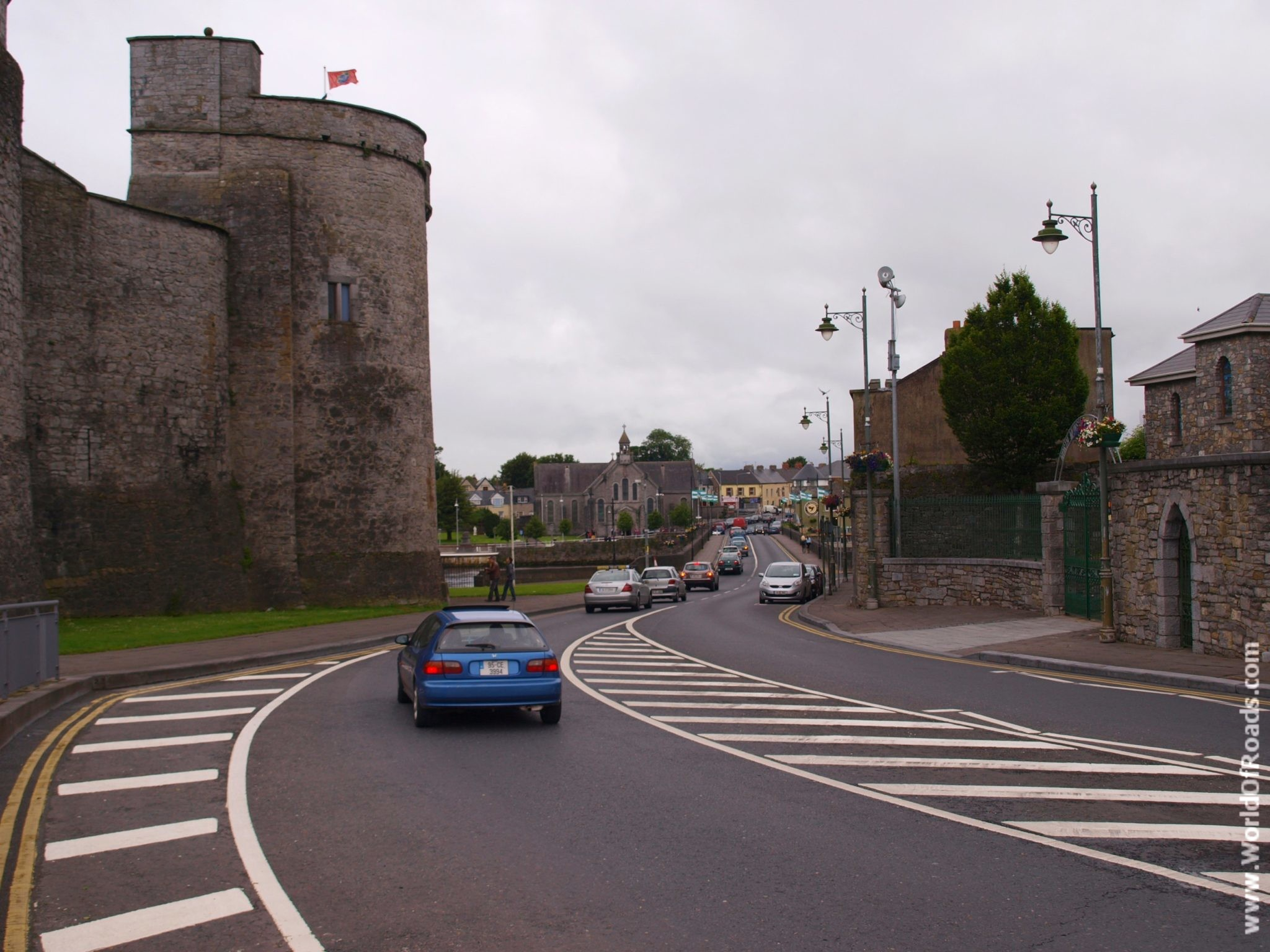 Замок Лимерик (Limerick Castle). Ирландия.
