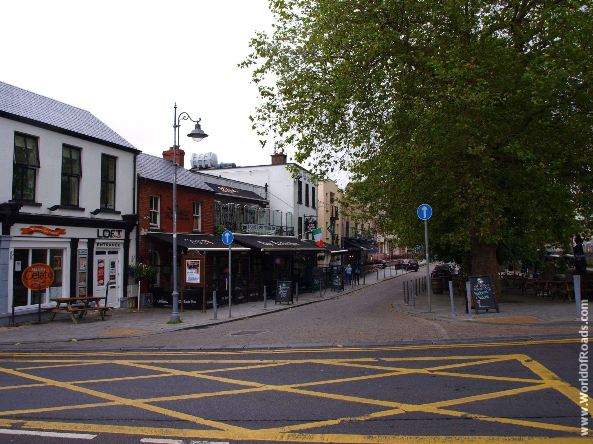 Улицы города Лимерик. Ирландия.