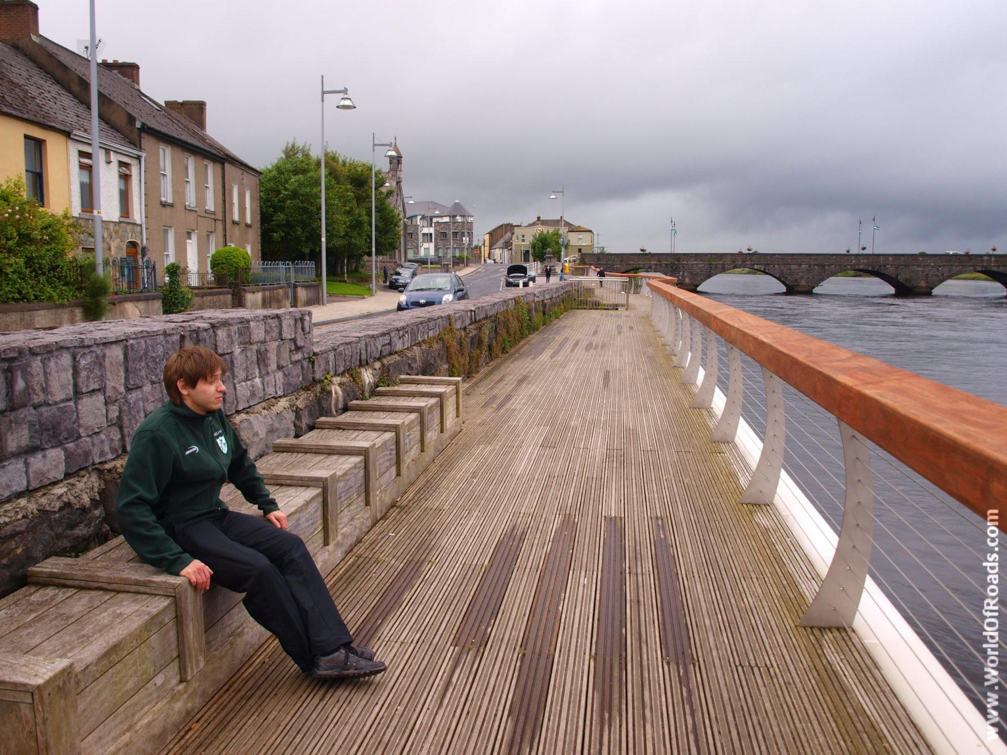 Река Шеннон. Лимерик. Ирландия.