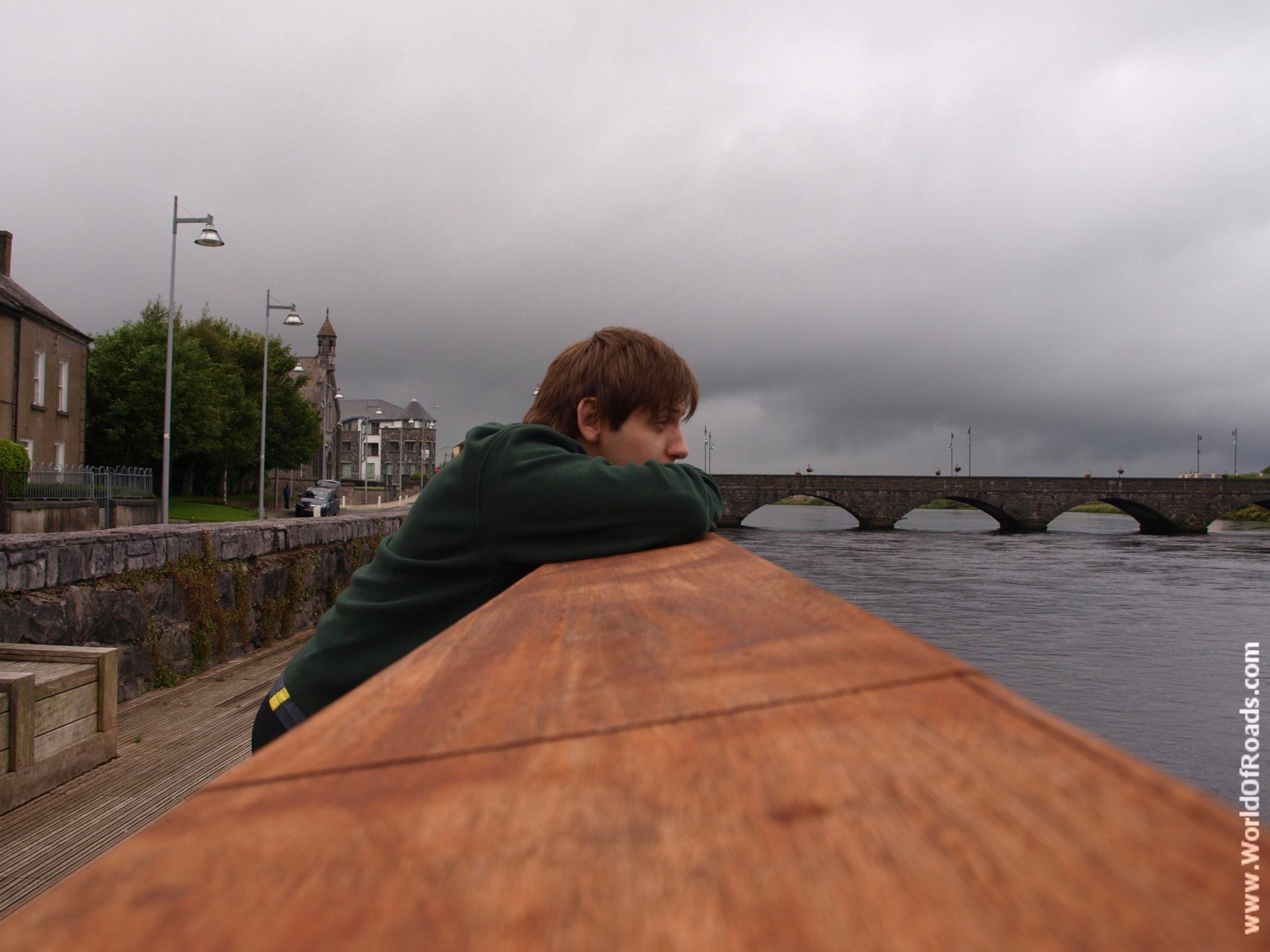 Shannon river. Limerick. Ireland.