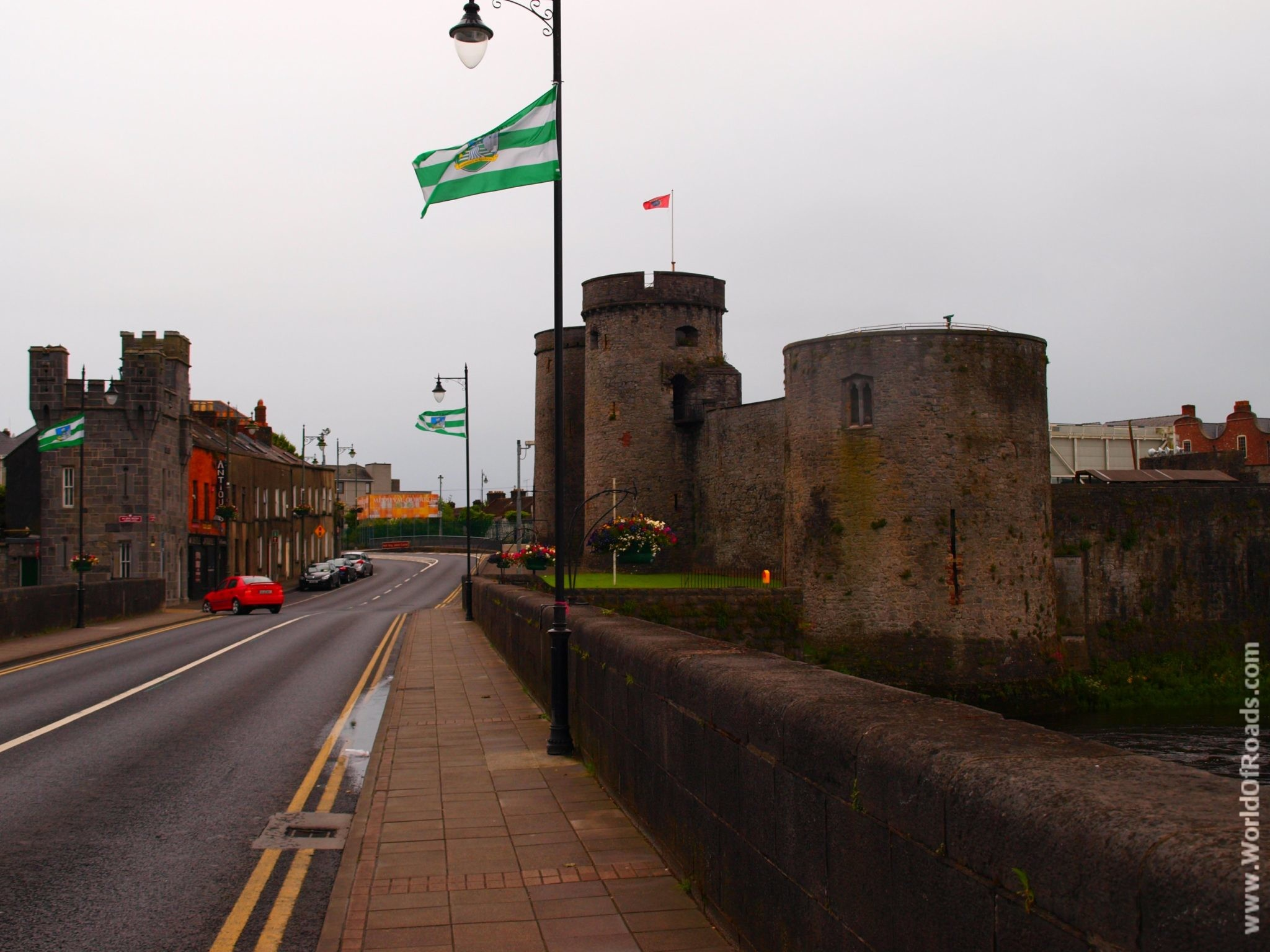 Замок Лимерик. Ирландия.