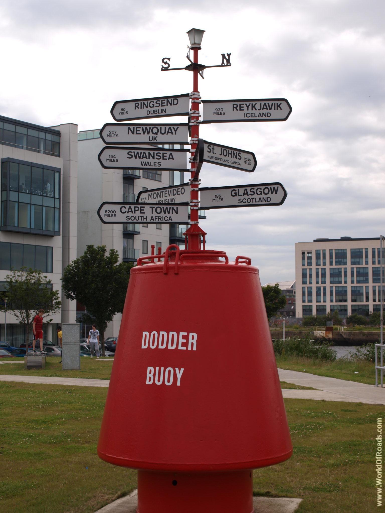 Dodder Buoy. Ирландия.