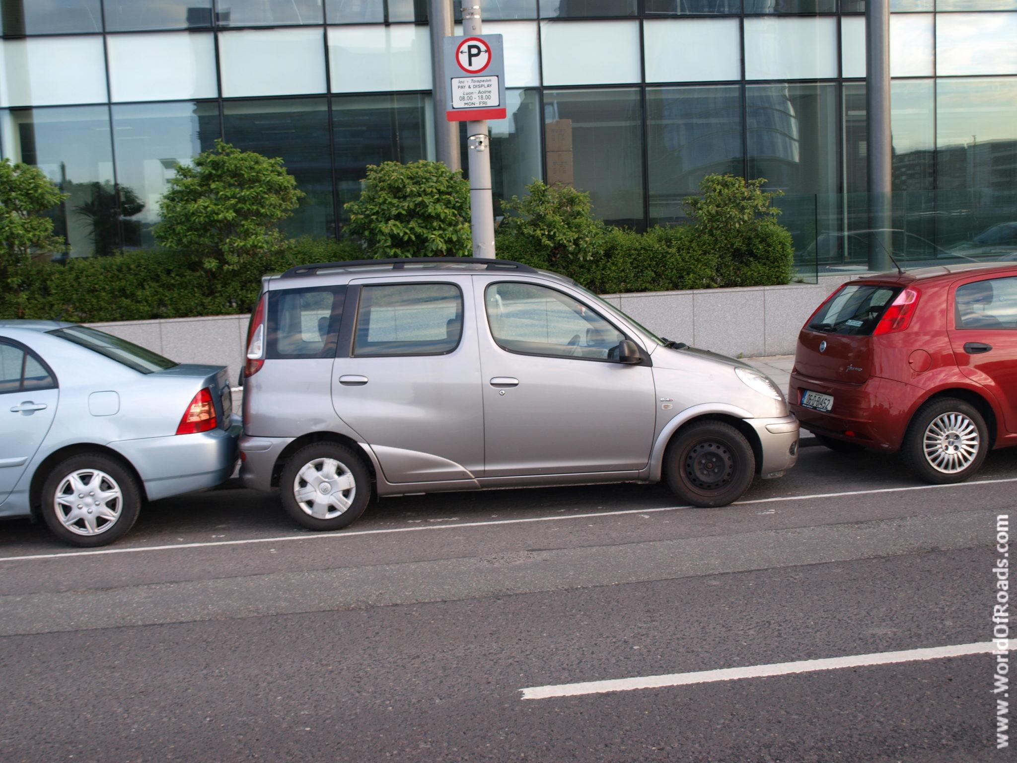 Чудеса парковки. Дублин. Ирландия.