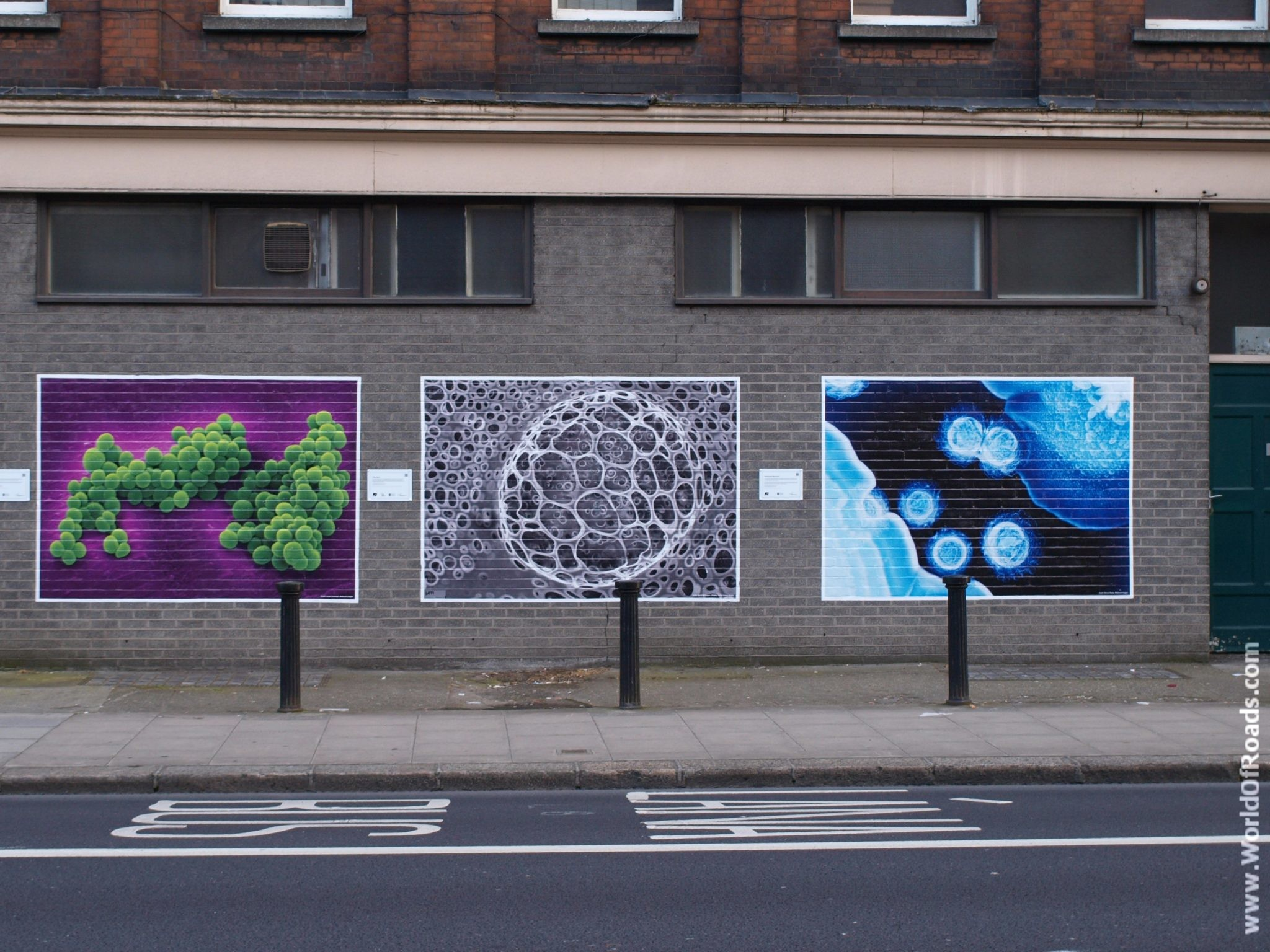 Уличное граффити. Дублин. Ирландия.