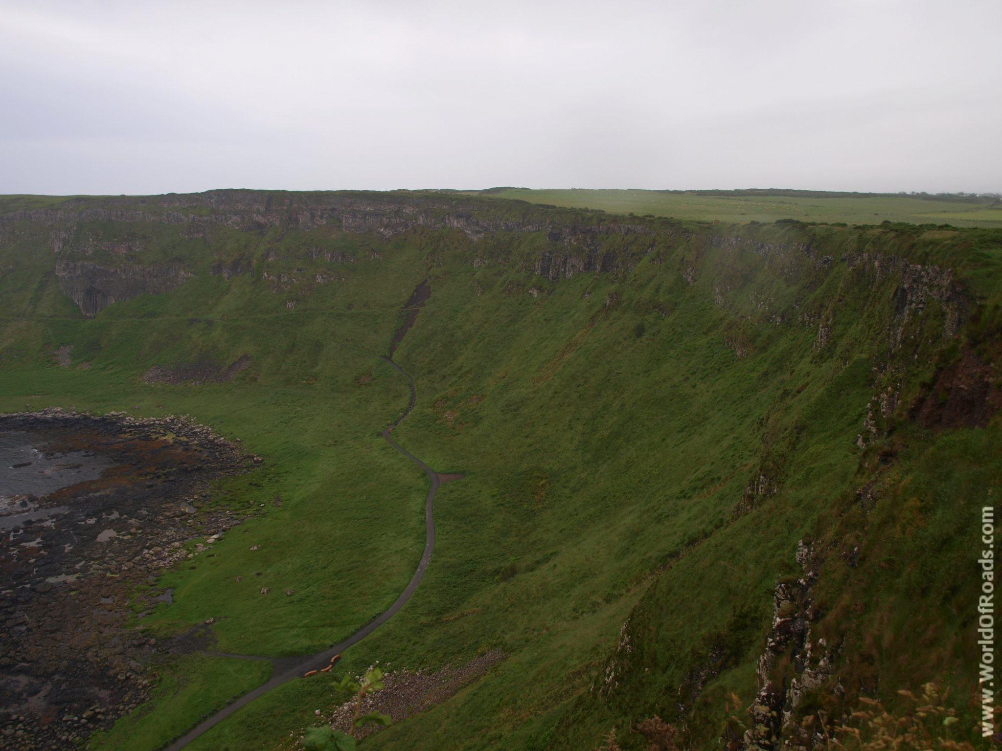 Скалы. Тропа Гиганта (Giant's Causeway). Северная Ирландия.