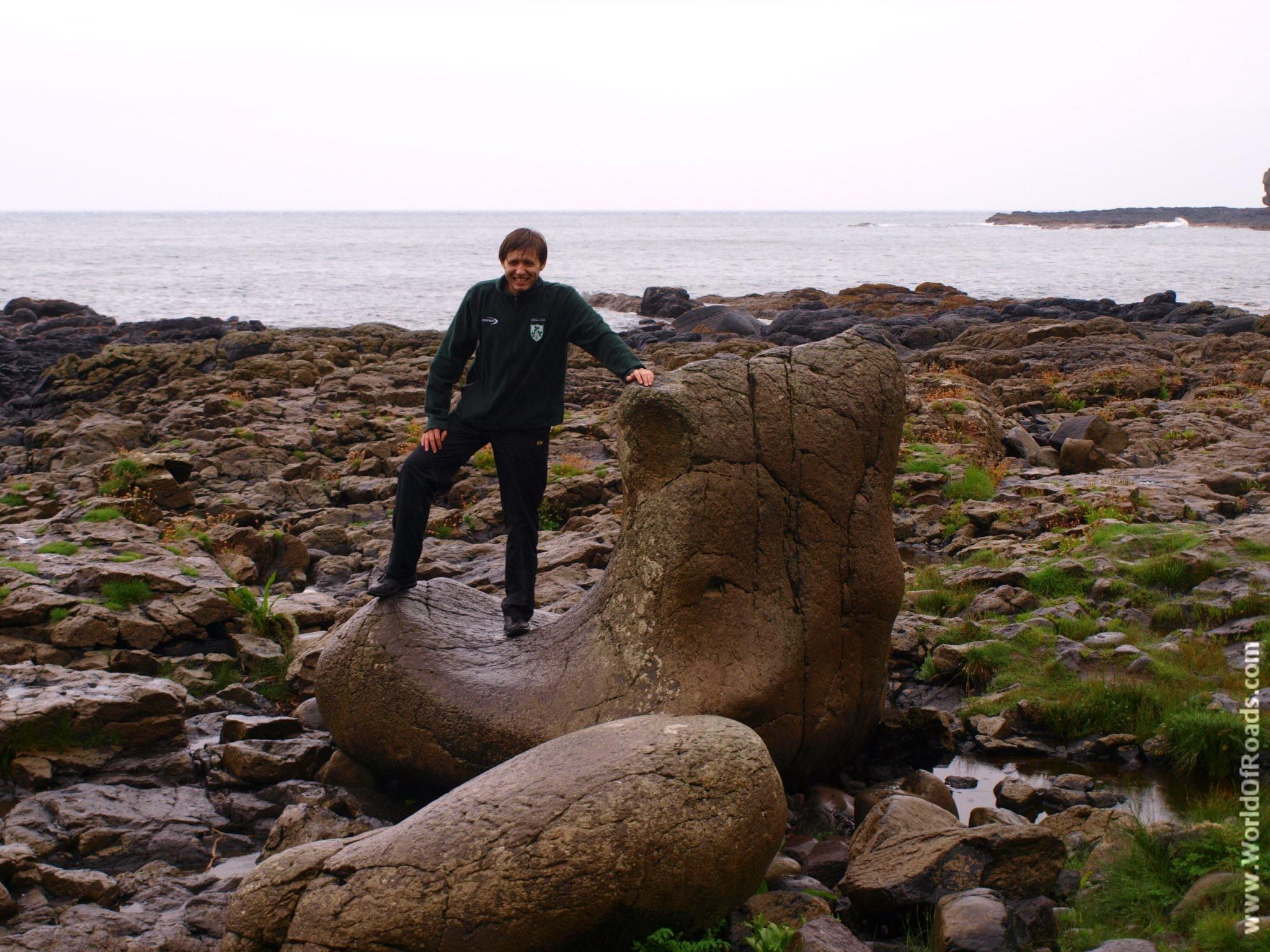 Ботинок Гиганта. Тропа Гиганта (Giant's Causeway). Северная Ирландия.