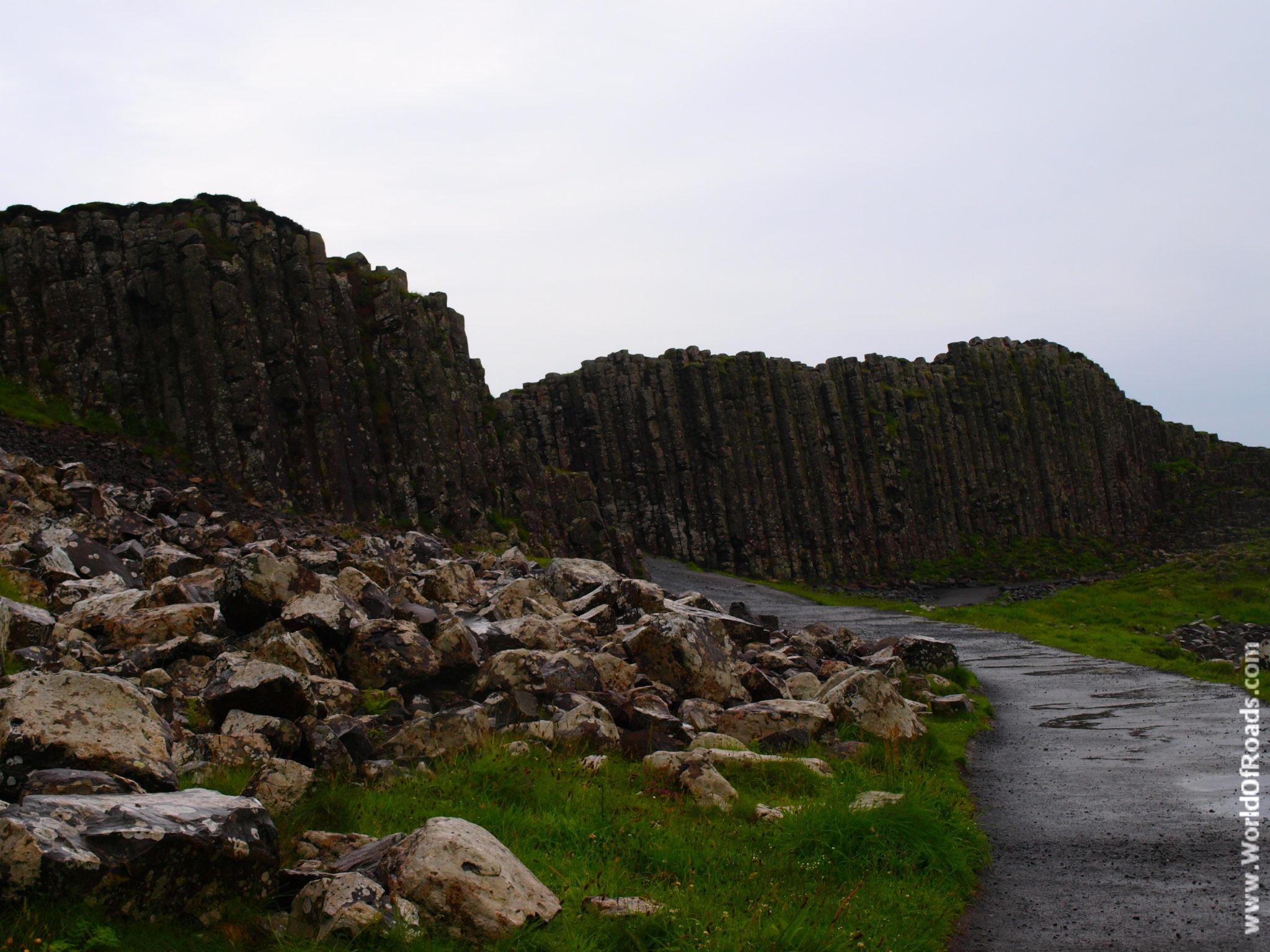 Тропа Гиганта (Giant's Causeway). Северная Ирландия.