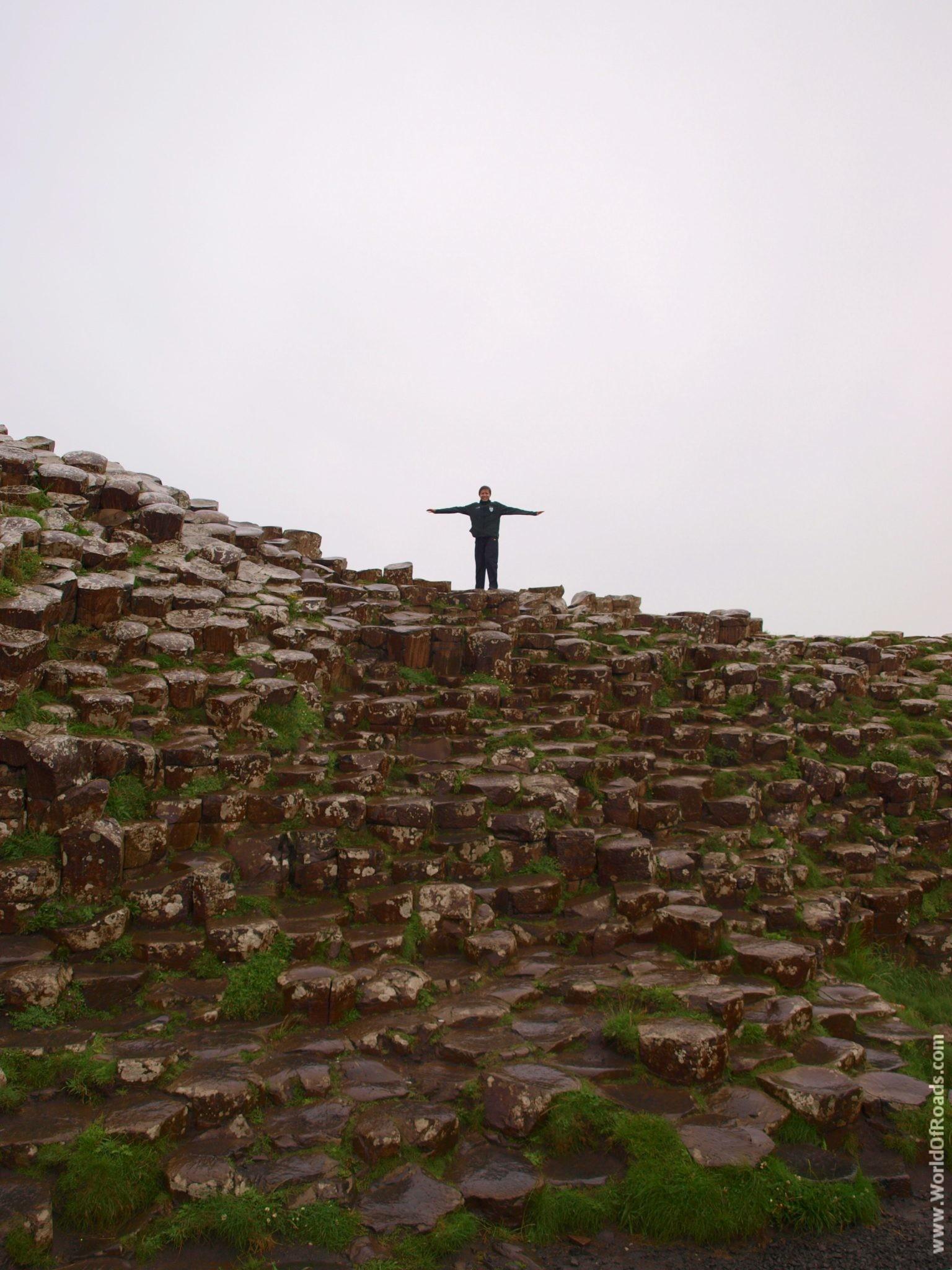 Тропа Гиганта (Giant's Causeway). Северная Ирландия..