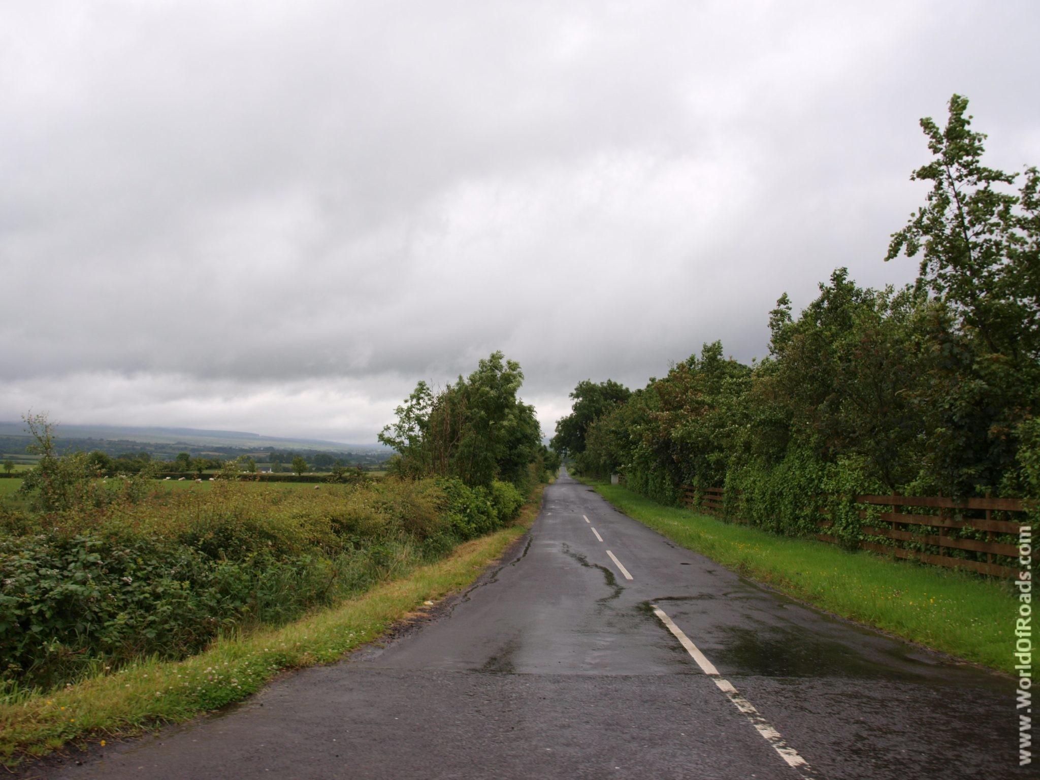 Дорога. Северная Ирландия.