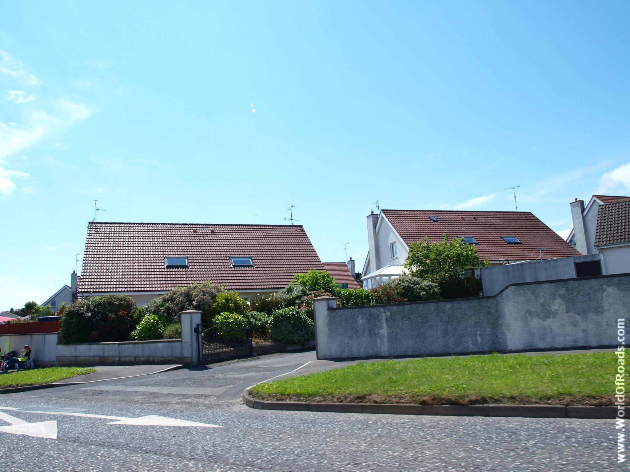 Маленький городок в Ирландии.