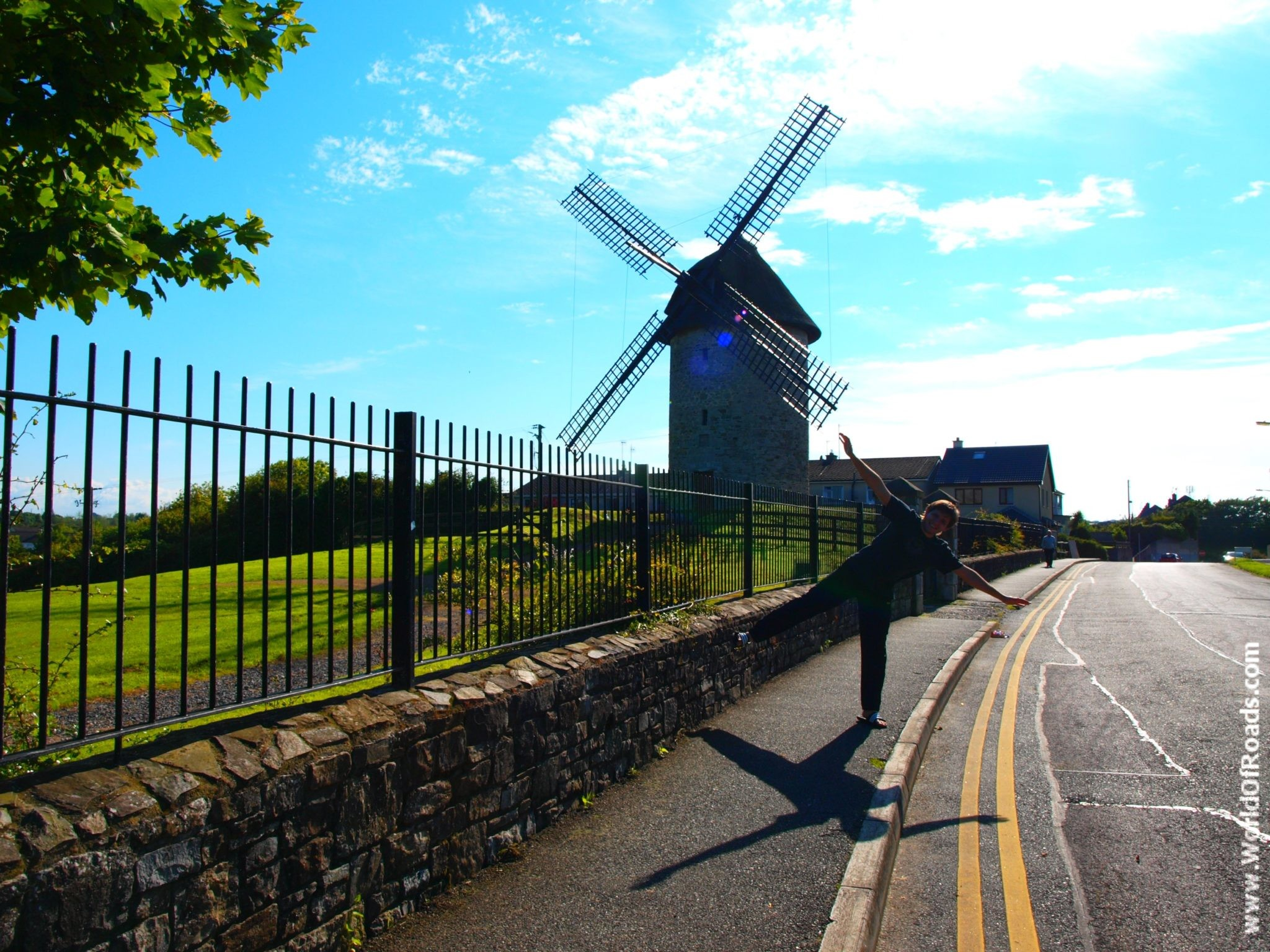 Мельницы Скерриес. (Skerries windmills). Ирландия