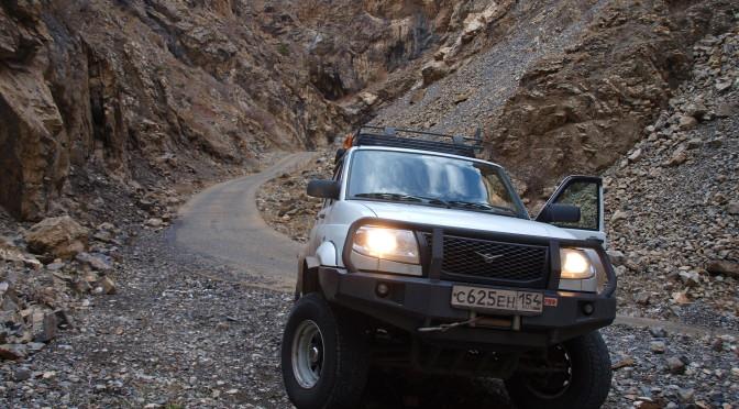 Горная дорога в Турции