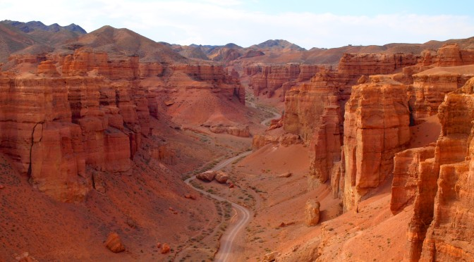 Чарынский каньон. Долина замков (Весна в Казахстане — 2014)