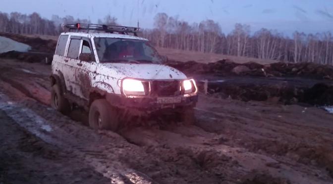 Тестируем грязевую резину