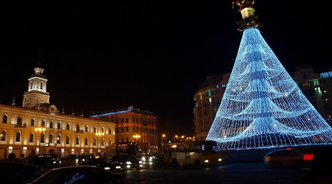 Площадь Свободы. Тбилиси (Грузия)