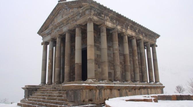 Храм Михра в Гарни (Армения)