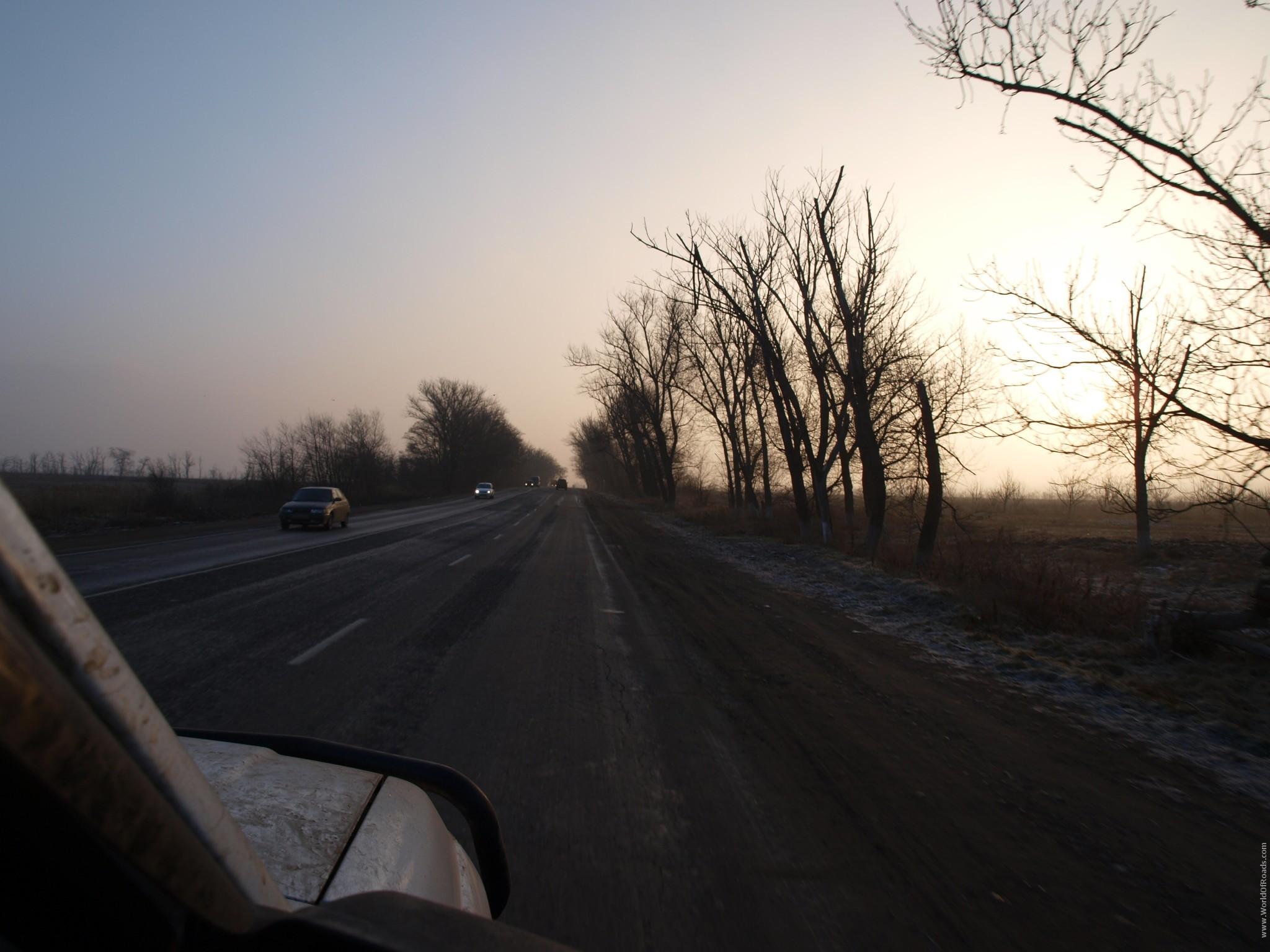 По пути в Дербент, Дагестан, Россия