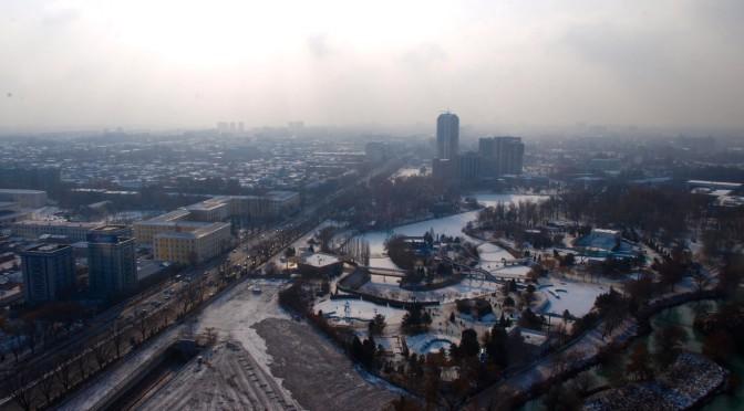 Ташкент: фото с высоты