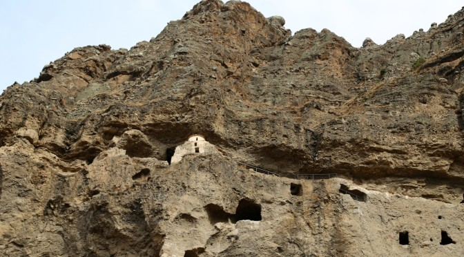 Пещерные монастыри грузии: Ванис Квабеби и Вардзия