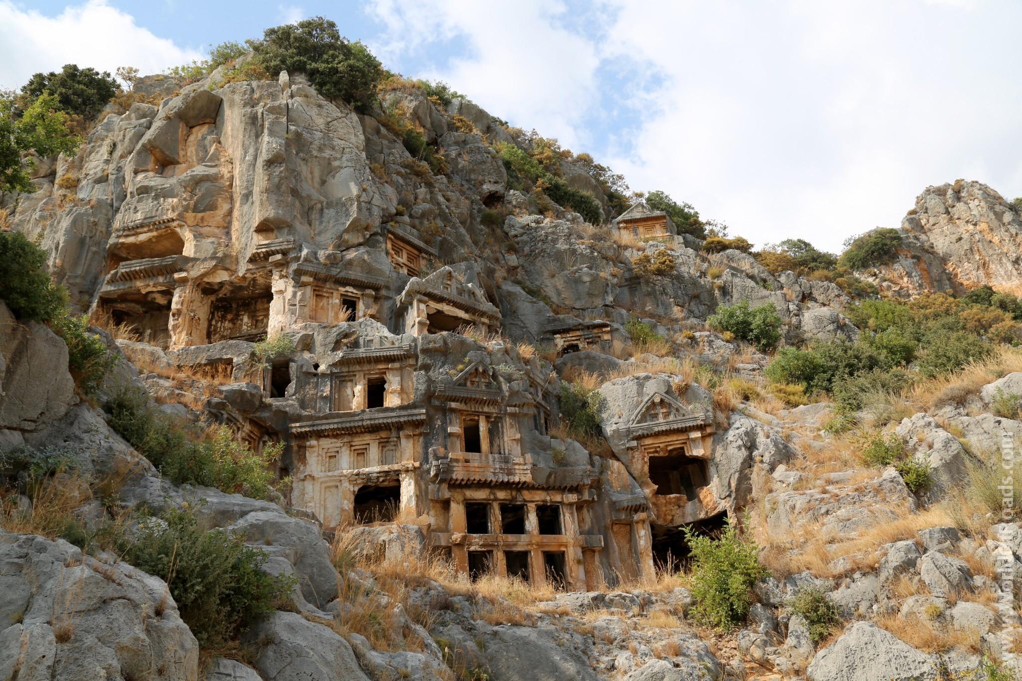 Ликийский гробницы столицы Ликии