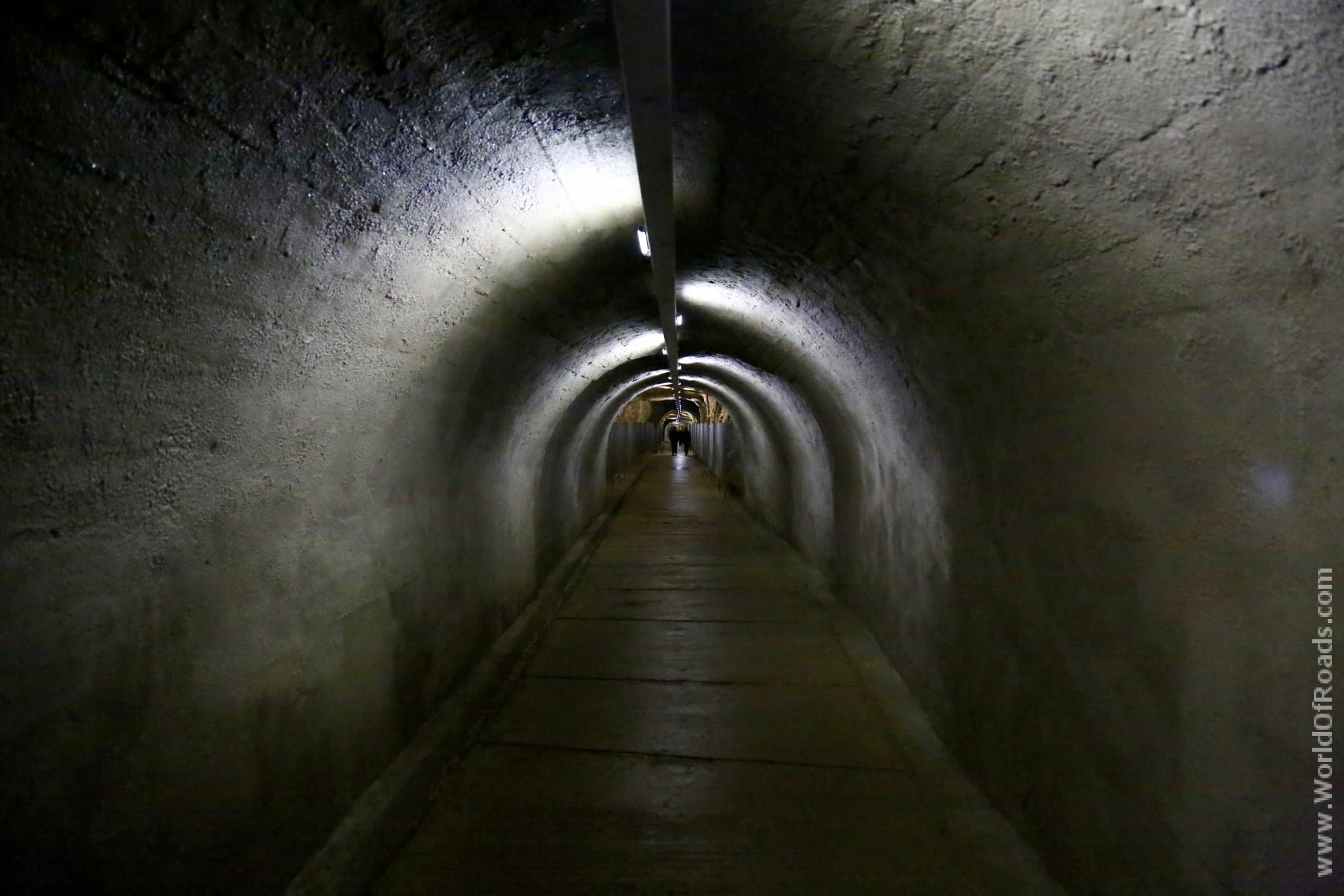 Пещера Прометея. Тоннель.