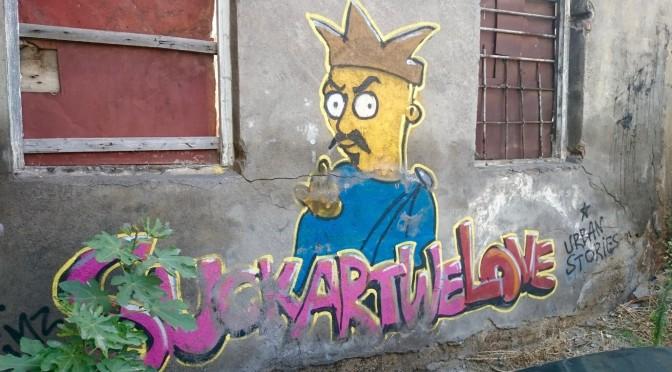 Уличное искусство Тбилиси