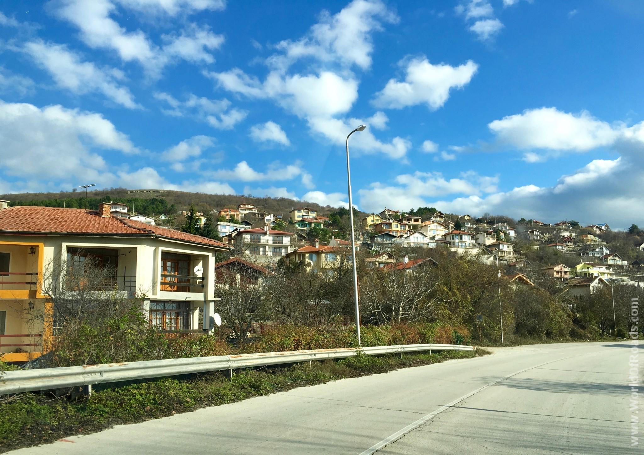 По дороге из Варны в Балчик. Болгария