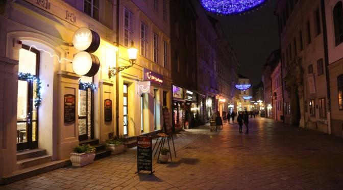 Уютные улочки Братиславы. Словакия
