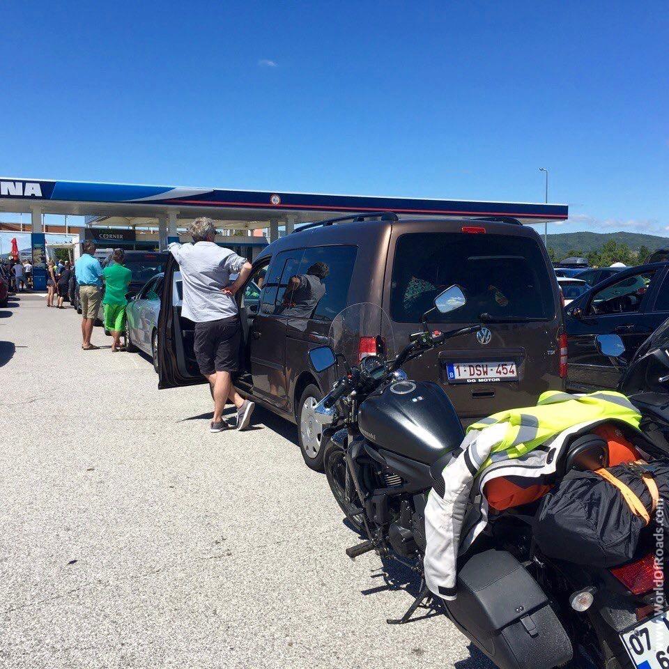 Croatia heavy traffic