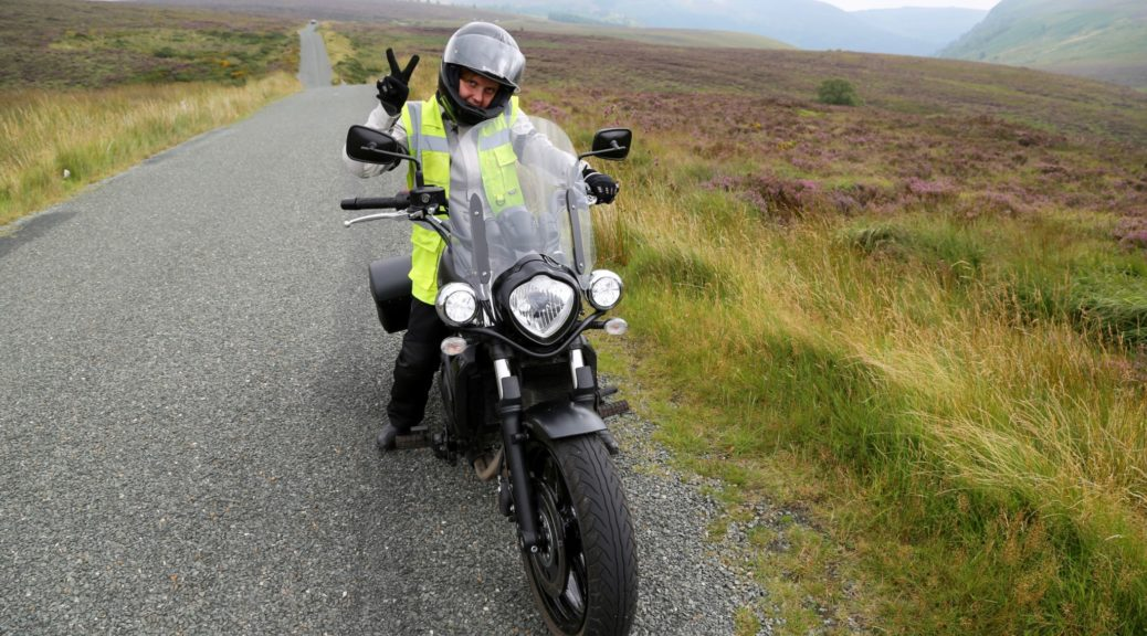 Motorcycle travelling in Ireland