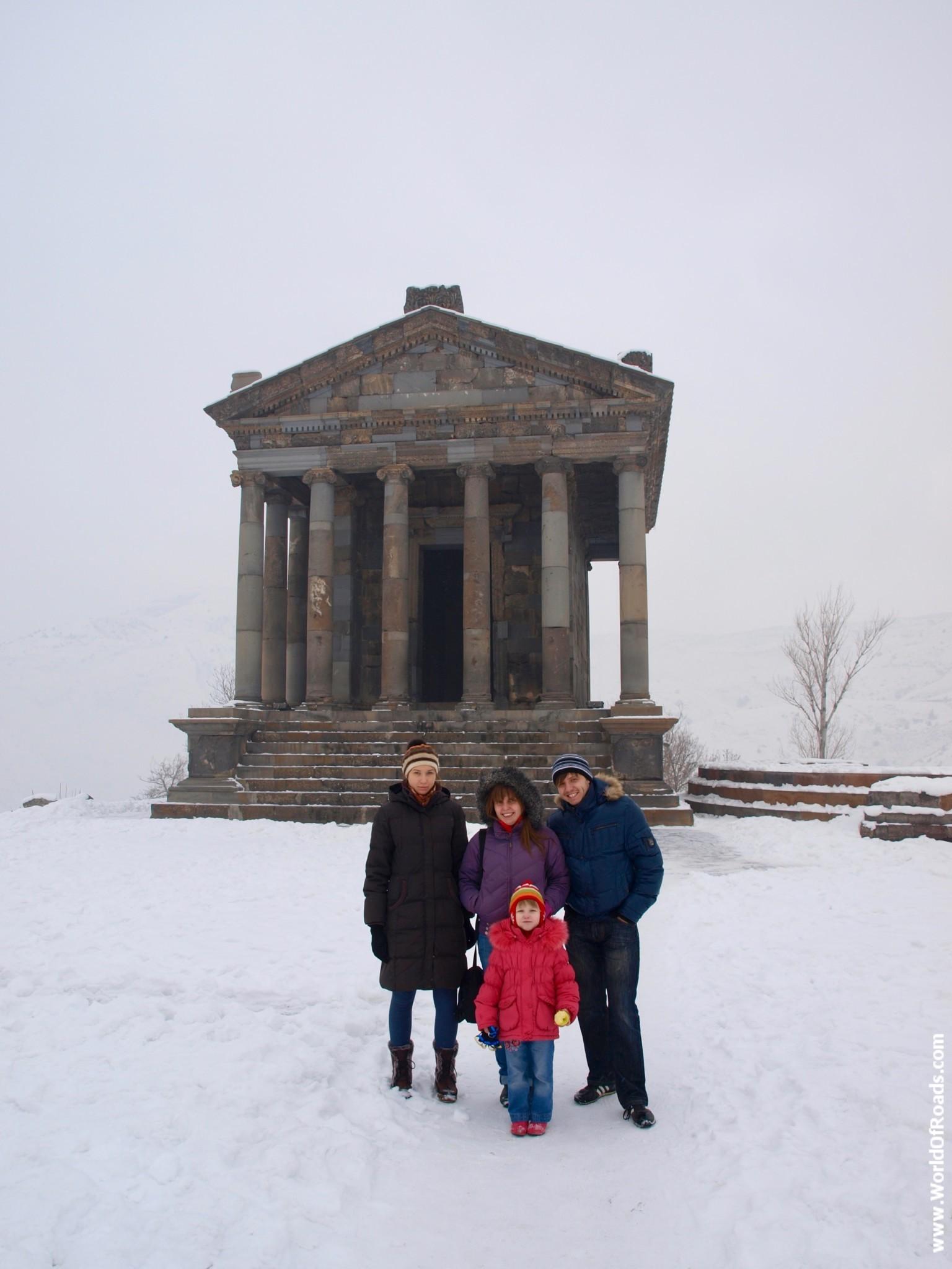Храм Гарни. Достопримечательность ЮНЕСКО. Армения
