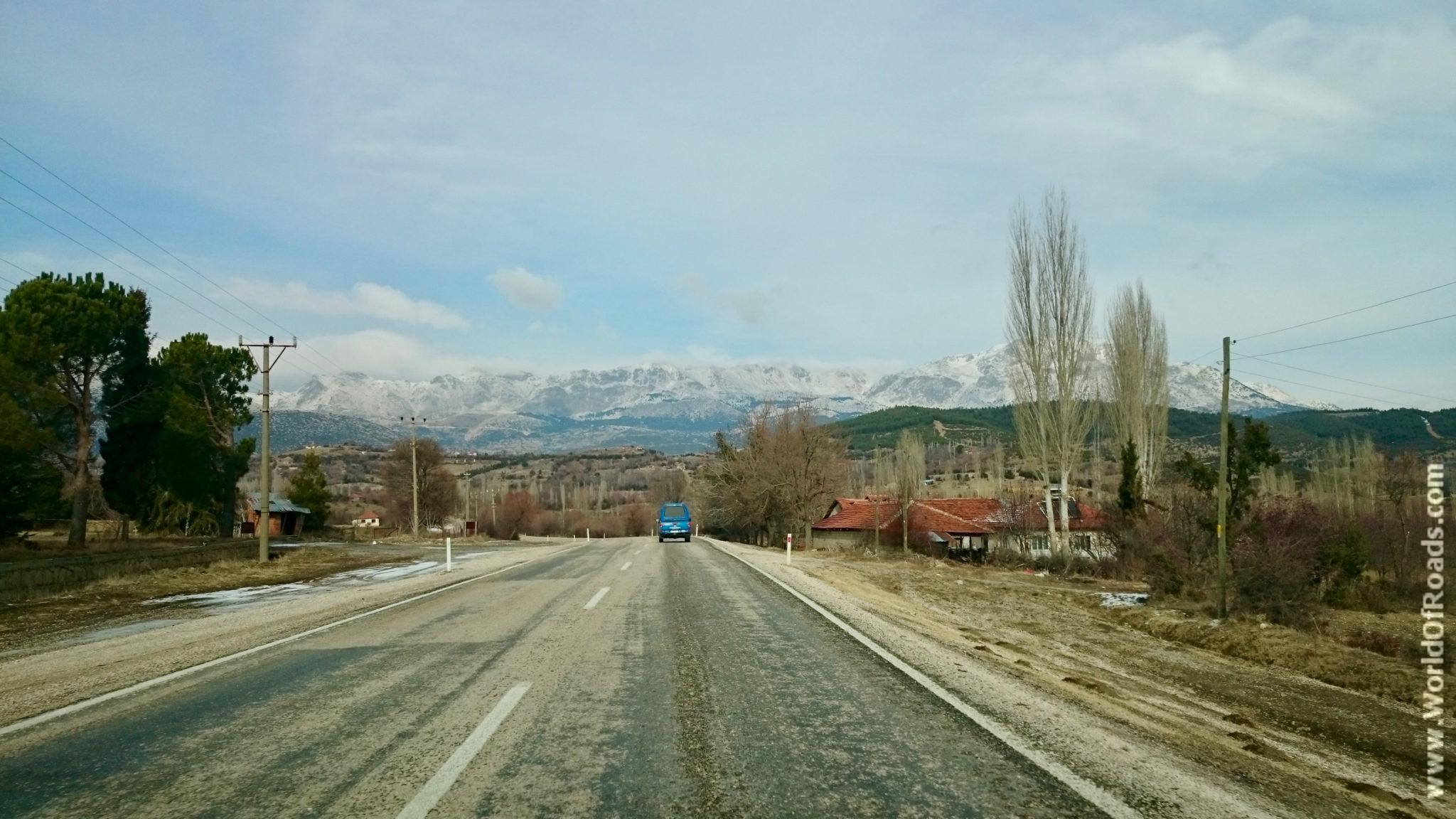 Дорога в Эгирдир