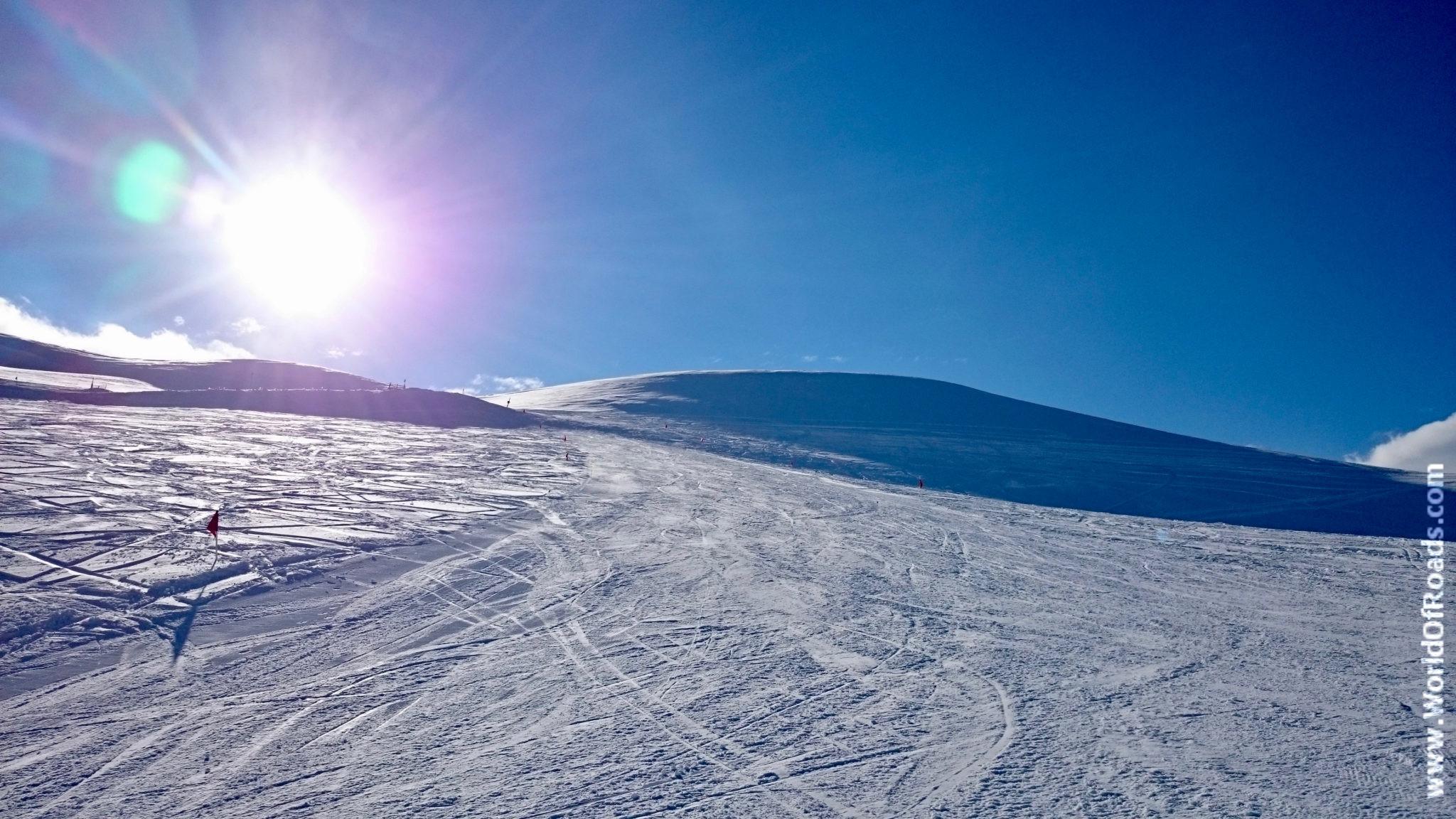 Лыжный курорт Давраз.