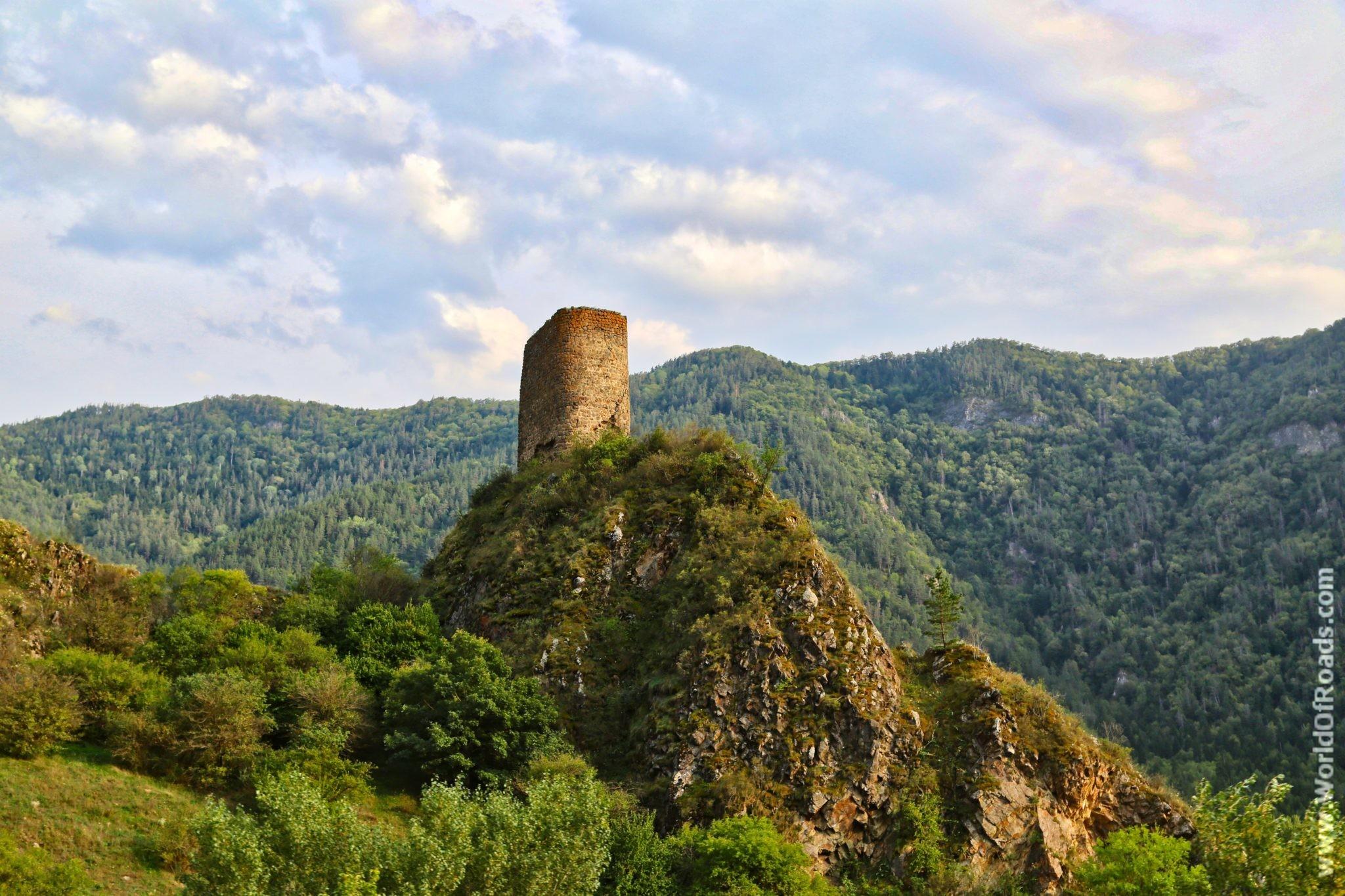 Башня крепости Слеса