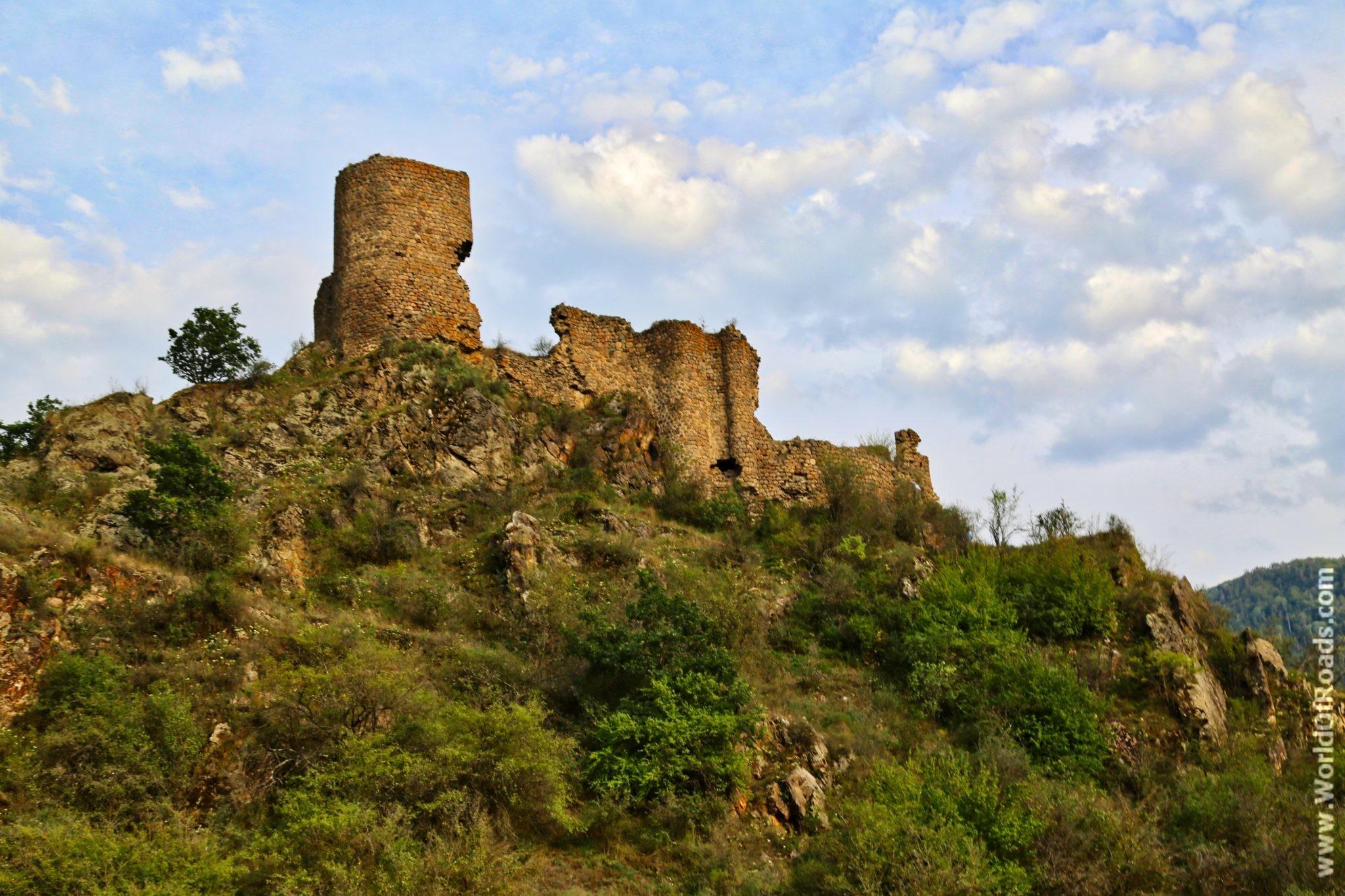 Башня крепости Моктсева